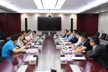 联想集团高级副总裁、数据中心业务集团中国区首席执行官一行来访